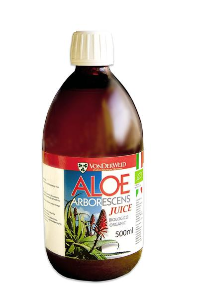 Aloe Arborescens juice Bio 500 ml