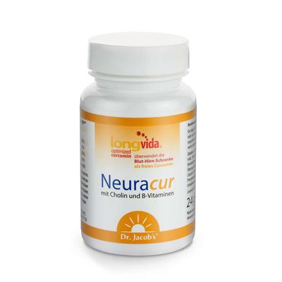 Neuracur s cholínom a B-vitamínmi zn. Dr. Jacob´s