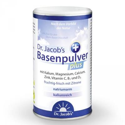Basenpulver plus 300 g zn. Dr. Jacob´s